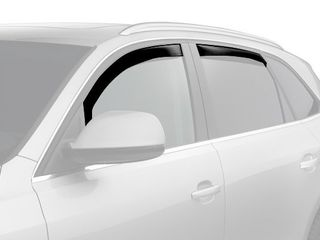 WeatherTech Custom Fit Front   Rear Side Window Deflectors for Ford Expedition  Dark Smoke