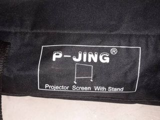 P Jing Projector Screen with Stand