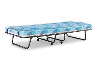 Roma Folding Bed Twin Blue   linon