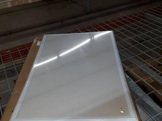 20 x 30  white framed bulletin board