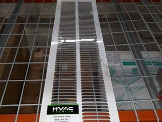 8  X 34  Return Air Grille   Sidewall And Ceiling   Hvac Vent Duct Cover