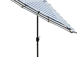 Sunnyglade 9 ft  Patio Umbrella Crack and Tilt