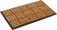 Kempf Coco Fiber In laid Doormat 18x30
