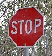 Heavy Duty Stop Sign