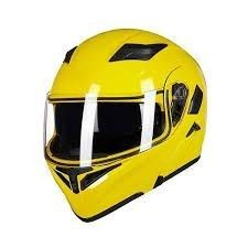 IlM Yellow Motorcycle Helmet  Size Unspecified
