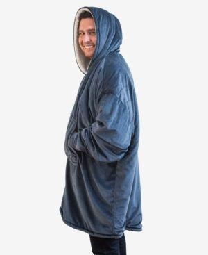 The Comfy Blanket Sweatshirt Navy  Blue