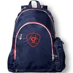 Ariat ladies Navy   Red Ring Backpack 10018905