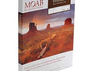 Moab Entrada Rag Natural Ern300131925 Inkjet Paper Cotton 300 A3 Double sided