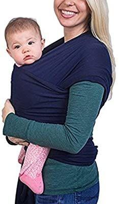 Jade Reign Ergonomic Organic Cotton Baby Wrap Carrier  Pink