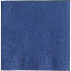 Royal Navy Blue Beverage Napkin  Package Of 200