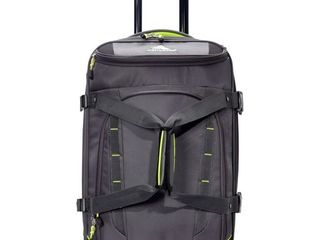 High Sierra Volusia 22  Carry On Upright Wheeled Duffel  eBags Exclusive