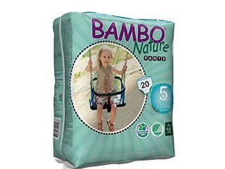 Abena Bambo Nature Premium Baby Diapers  Training Pant   Size 5  20 Count