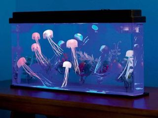 Jellyfish Tank With led lights Giant Jellyfish Aquarium Home Deco