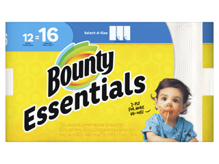 Bounty  PGC74682  Select A Size Paper Towels  996   Carton  White