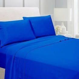 Adtwins Twin Ultra Soft Sheet Set  Blue