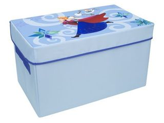 Disney Frozen Collapsible Toy Chest  Blue