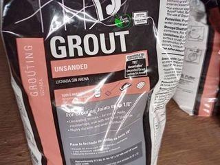 Tec Unsanded Grout Charcoal Gray 10lb bag
