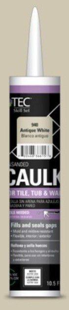 TEC Tec Skill Set 10 5 fl oz Antique White latex Caulk I Tube