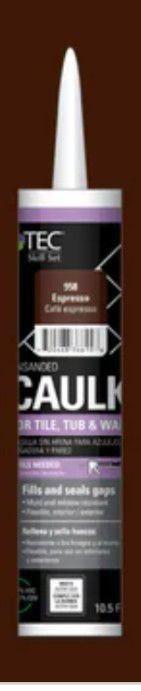 TEC Tec Skill Set 10 5 fl oz Espresso latex Caulk I Tube