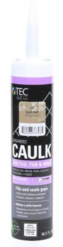 TEC Tec Skill Set 10 5 fl oz light Buff latex Caulk I Tube