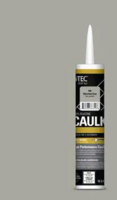 TEC Tec Skill Set 10 5 fl oz Silicone Gray Caulk 1 Tube