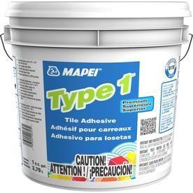 MAPEI 1 Gallon Trowel Ceramic Flooring Adhesive