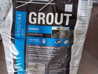 Tec Sanded Grout Mist 10 lb bag