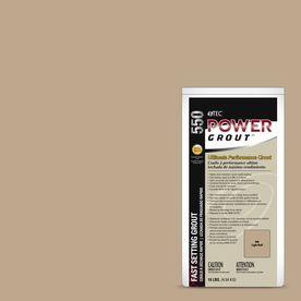 TEC 10 lb light Buff Sanded Powder Grout