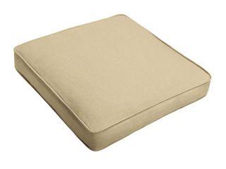 lehigh Sunbrella Solid Indoor  Outdoor Corded Chair Cushion  Retail 85 99