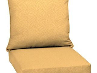 Arden Selections Shirt Texture Outdoor Chair Cushion   44 in l x 20 in W x 3 5 in H