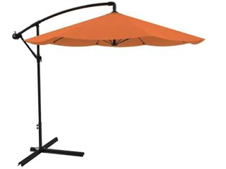 10ft Cantilever Easy Crank Umbrella by Pure Garden