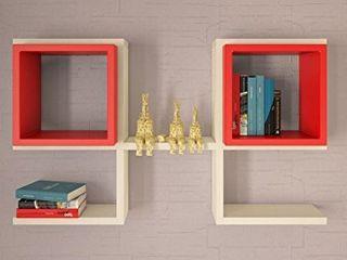 Decorotika Brille Accent Wall Shelf