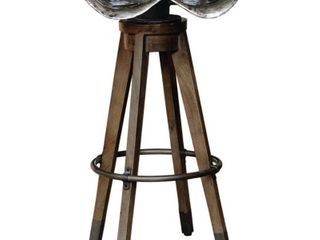 Swivel Antique Tractor Seat Barstool MSRP 799 99