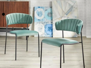 Kalmar Dining Chair Green by Angelo Home