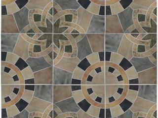 SomerTile 17.75x17.75-inch Cartaga Azul Ceramic Floor and Wall Tile (5 tiles/11.25 sqft.)