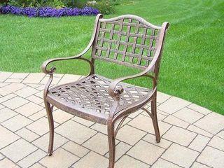Merit Cast Aluminum Dining Chair  Retail 188 49