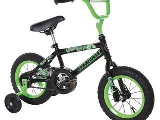 12  Magna Boys Gravel Blaster Bike   Black Green