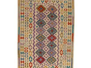 Pasargad DC Afghan Kilim Handspun Wool   6 7  x 9 7  Retail   816 99