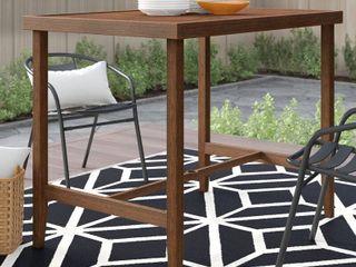 COSCO Outdoor living  Patio Bar Table  Steel  Brown