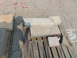 3 Pieces of Precast Concrete