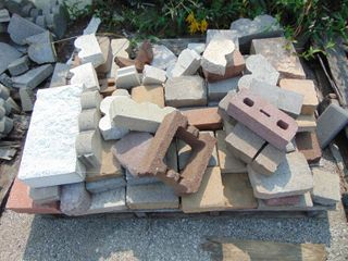 Assorted Paver and Edger Pieces