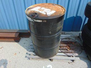 50 Gallon Barrel w  Used Oil