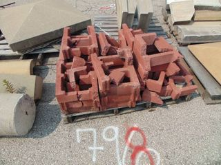 18 Red Cinder Blocks