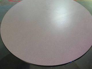 Large Circular Gray Table