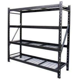 Member s Mark 4 Shelf Industrial Storage Rack