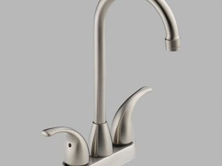 Tunbridge Two Handle Bar-Prep Faucet in Stainless P288LF-SS