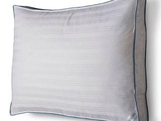 Standard Queen Down Surround Firm Extra Firm Pillow White   Fieldcrest