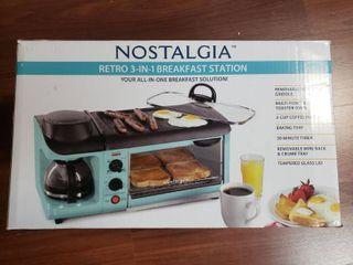Nostalgia 3 in 1 Breakfast Station