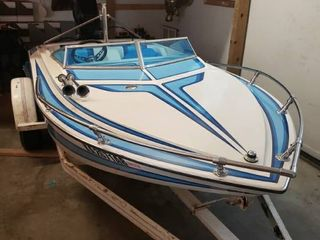 1981 Crusader 12ft Boat with Trailer