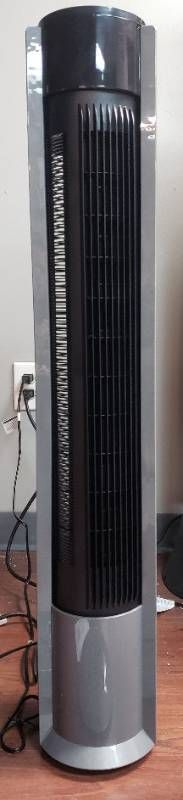 Tower Fan with Internal Oscillation and Remote